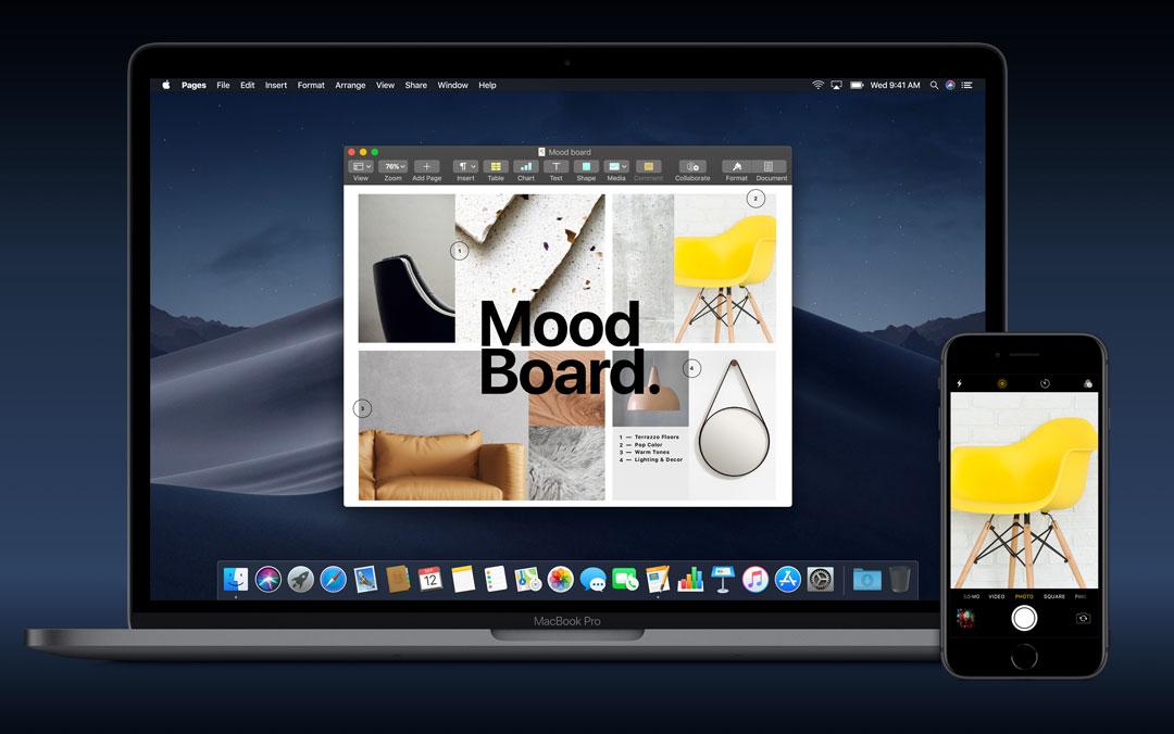 「macOS Mojaveカメラ連携」iPhoneで写真や書類を一発保存する方法