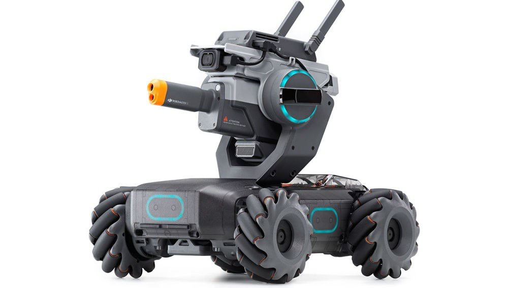 [DJI RoboMaster S1] 飛ばないドローン発表か?
