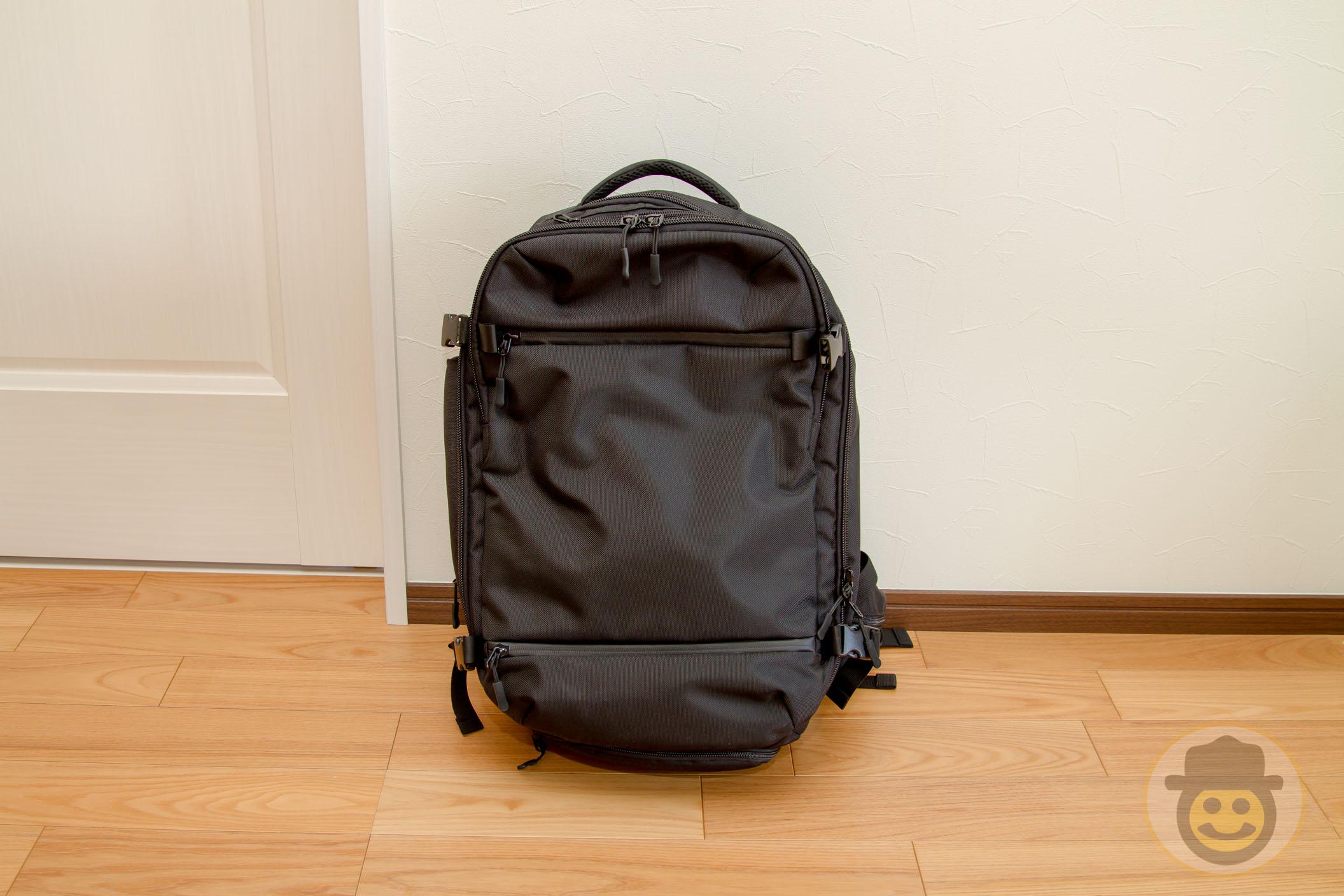 [レビュー] ビジネスにも旅行にも大容量で高機能なバックパック!